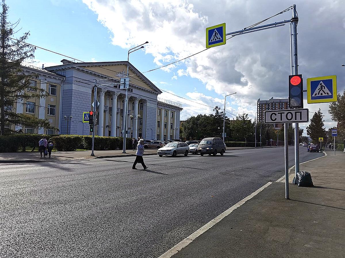 Ремонт улицы Павлова в Красноярске закончат к концу сентября