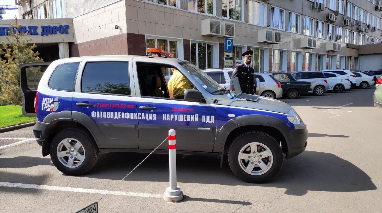 8 новых комплексов видеофиксации нарушений ПДД заработали в Красноярском крае