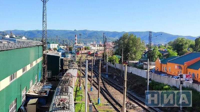 КрасЖД в январе-августе на треть нарастила отправку ускоренных контейнерных поездов