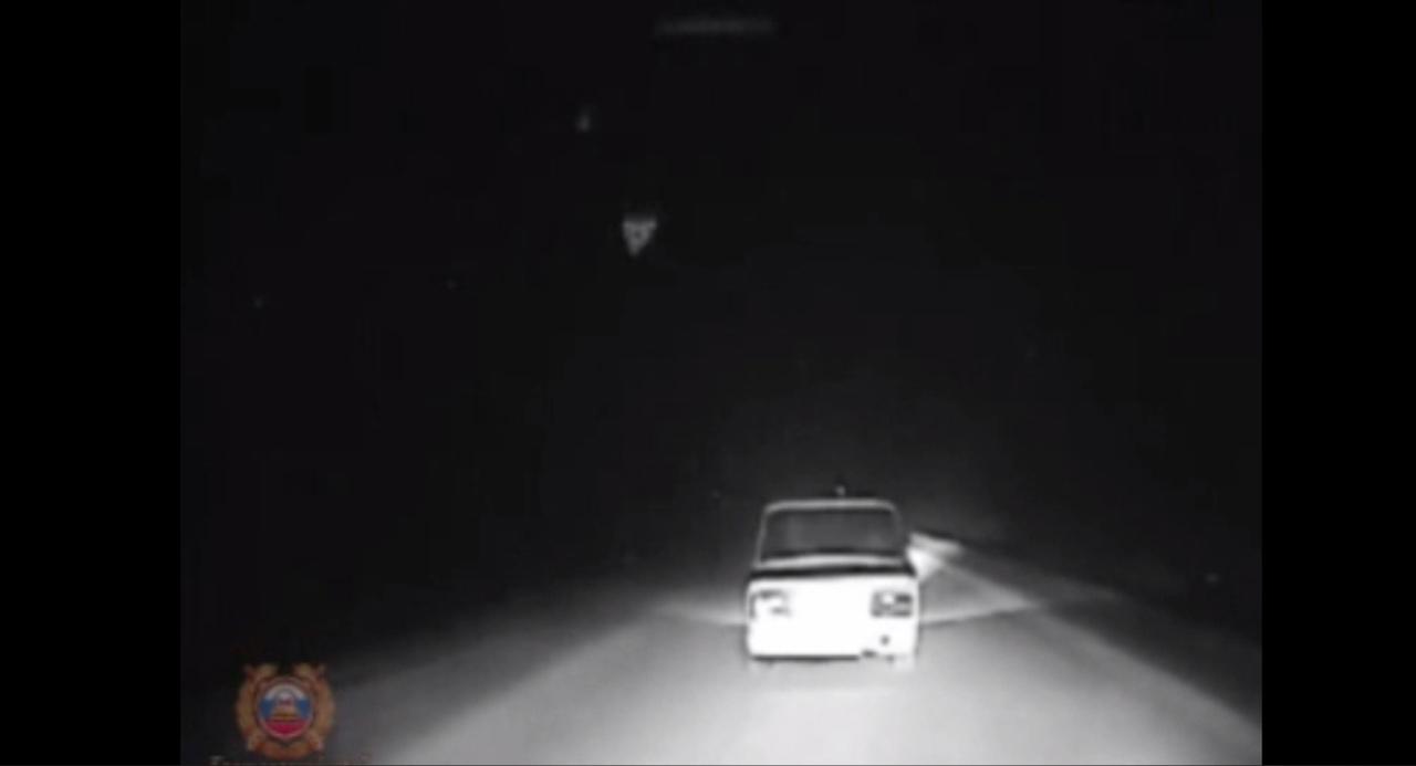 В Красноярском крае инспекторы ДПС более получаса догоняли подростка-водителя