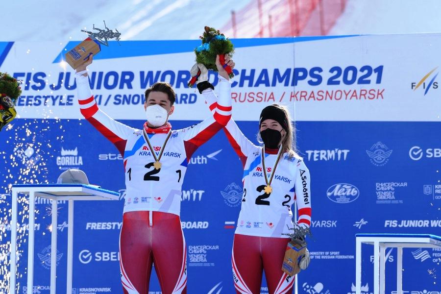 В дни проведения Первенства мира по фристайлу и сноуборду 2021 года Красноярск превратился в центр мирового спорта